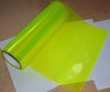 Пленка для фар (ярко-желтый)