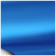 Пленка матовый хром голубой
