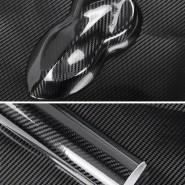 Пленка 5D под карбон черный