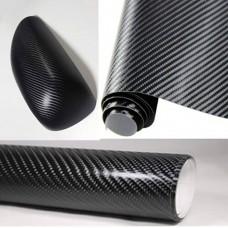 Пленка  6D под карбон (черный)